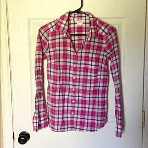 J. Crew The Perfect Shirt Button Down